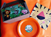 Jungle themed personalised tableware