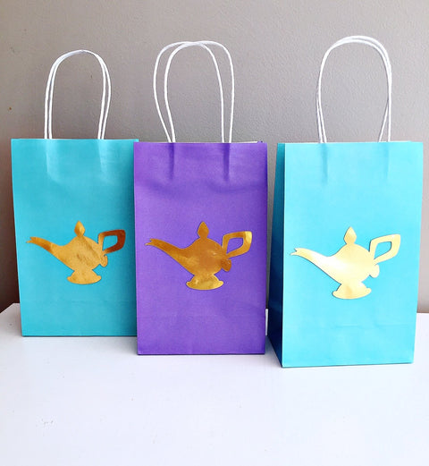 Aladdin party bags
