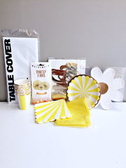 My yellow party box