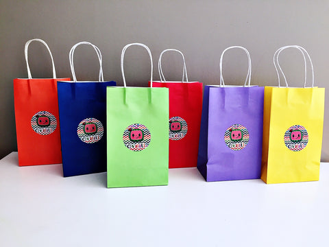 Cocomelon themed party bags