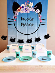 Cat themed party box