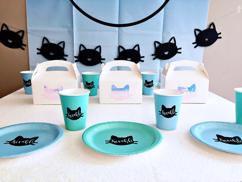 Kitty cat party theme