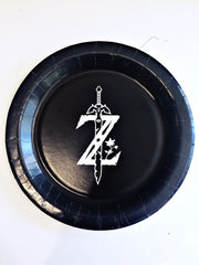 Legend of Zelda personalised party plates