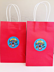 Ryans world party bags
