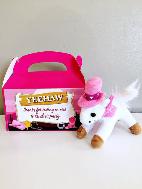 COWGIRL | HORSE | PONY PARTY BOX