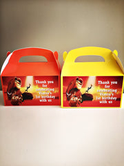 Lion king personalised gift boxes