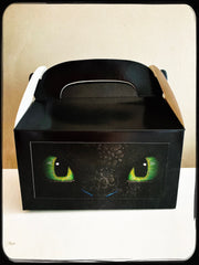 How to train your dragon toothless gift boxes