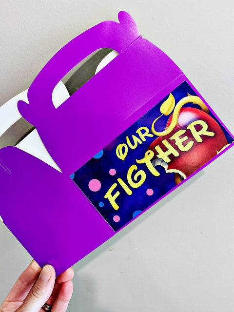 Descendants party boxes gift box