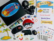 Pirate party games in a box