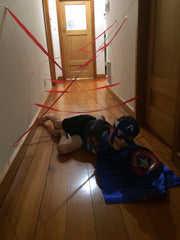 Superhero kids party games ideas