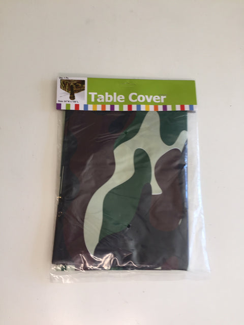 Army table cover