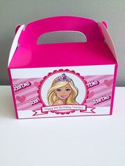 Barbie personalised gift boxes
