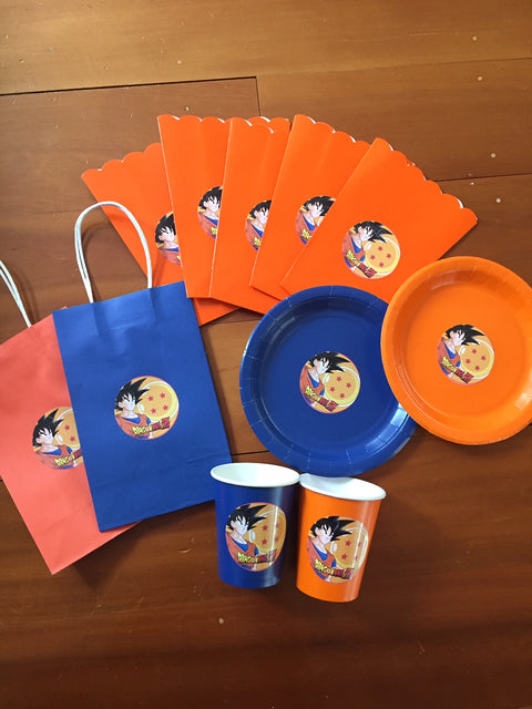Dragonball z party supplies