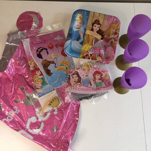 Princess bulk party set