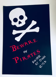 pirate personalised party decorations