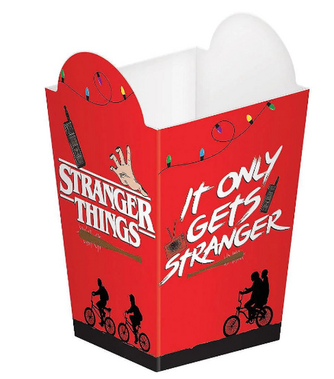 Stranger things popcorn boxes