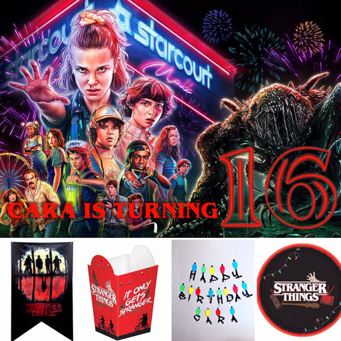 STRANGER THINGS PARTY BOX
