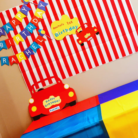 CUSTOM WIGGLES PARTY BOX - HARLEM