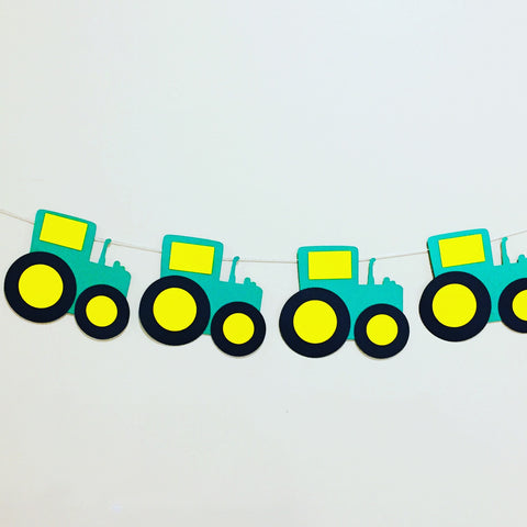 tractor party bunting