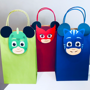 PJ Masks party gift bags