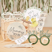 Baby shower photobooth props
