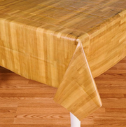 Wooden table cloth
