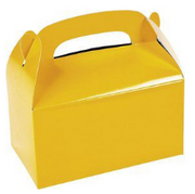 Yellow kids treat box