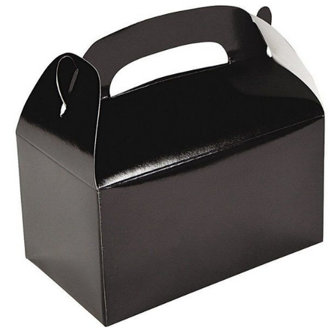 Black party gift box