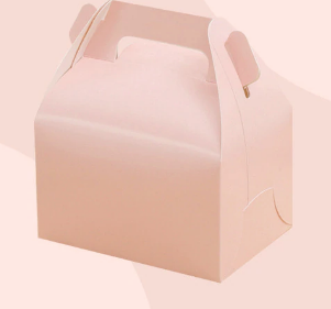 Baby light pink party treat box