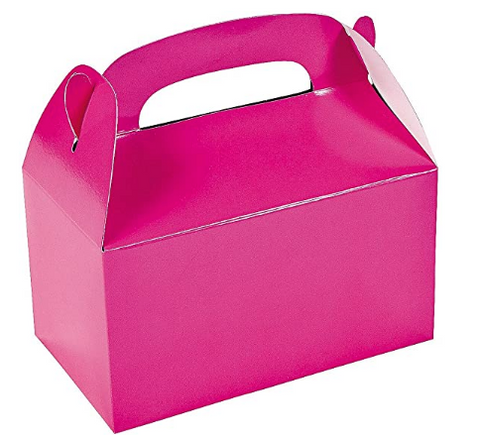 Pink party treat box