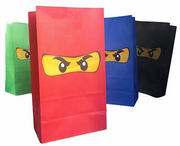 Ninjago filled party bag