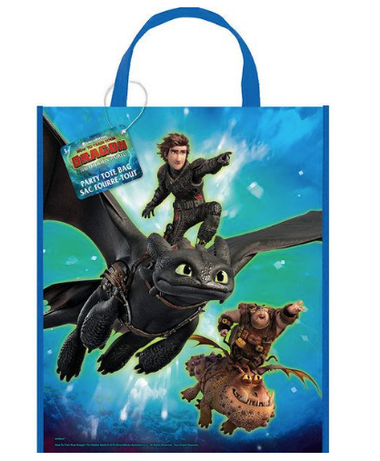 How to train your dragon tote bags