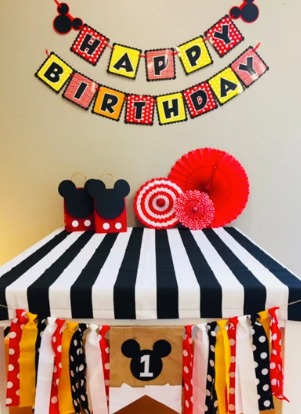 Mickey Mouse bunting