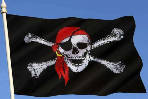 4 pirate flags