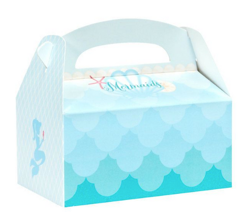 Mermaid party gift box