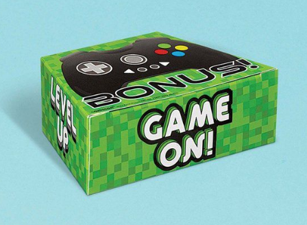 Game on controller treat boxes