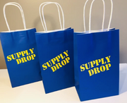 Fortnite supply drop themed gift bags