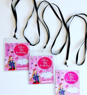 JoJo Siwa personalised lanyards
