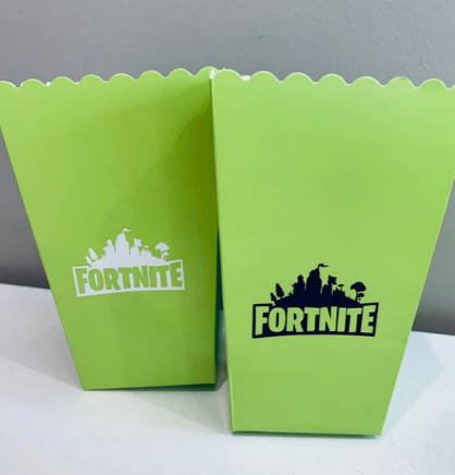 Fortnite popcorn boxes