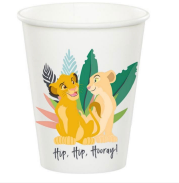 Lion king party cups