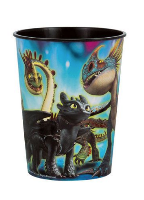 How to train your dragon keepsake cups