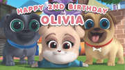 Puppy Dog Pals party supplies personalised chocolate wrappers
