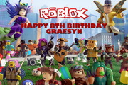 Roblox party supplies