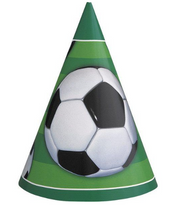 Soccer / football party hats