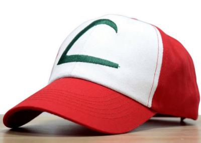 Ash Ketchum pokemon trainer hat
