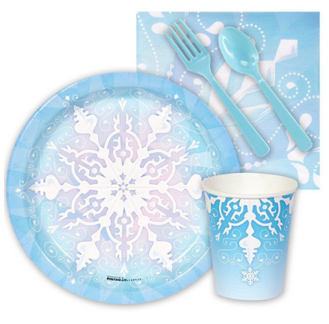 Frozen / snowflake party supplies