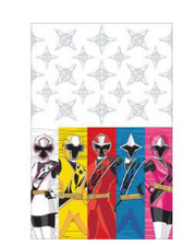 Power Ranger table cloth