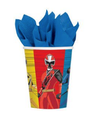 Power Ranger cups
