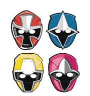 Power Ranger masks