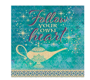 Aladdin party napkins